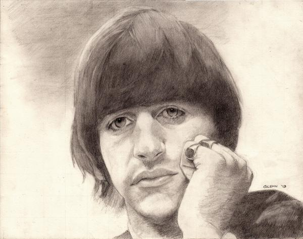 Ringo Starr by sketch1961